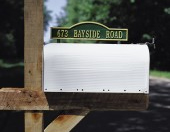 Mailbox Signs & Ornaments
