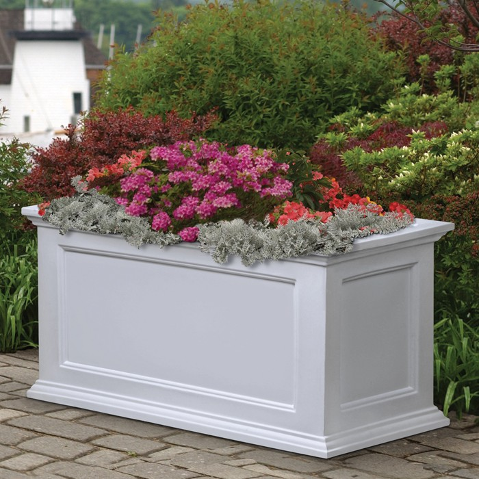 Attirant Deck U0026 Patio Planters