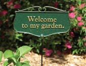 Garden Poem Signs