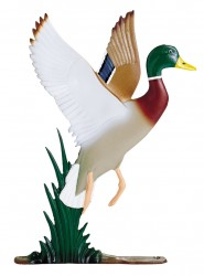 Whitehall Mailbox Sign Ornament - Duck