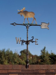 "Whitehall 30"" Moose Color Weathervane"