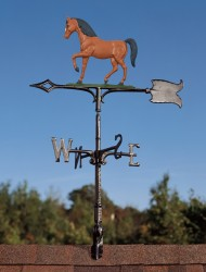 "Whitehall 30"" Horse Color Weathervane"