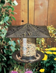 Whitehall 6'' Trumpet Vine Tube Bird Feeder