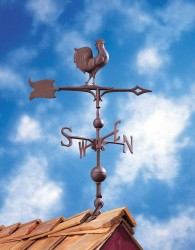 "Whitehall 30"" Rooster Weathervane"