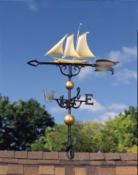 "Whitehall 46"" Yacht Weathervane"