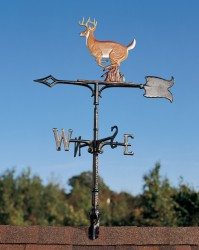 "Whitehall 30"" Buck Color Weathervane"