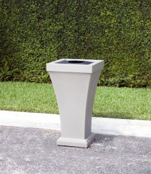 "Bordeaux 40"" Tall Waste Bin"