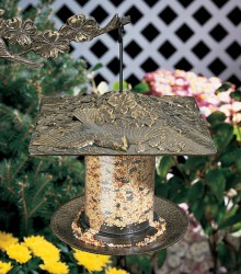 Whitehall 6'' Cardinal Tube Bird Feeder