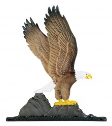 Whitehall Mailbox Sign Ornament - Eagle