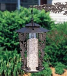 Whitehall Oakleaf Silhouette Bird Feeder