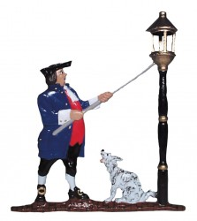 Whitehall Mailbox Sign Ornament - Lamplighter