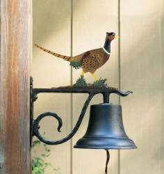 Whitehall Large Bell with Pheasant