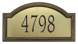 Whitehall Providence Artisan Metal Estate Address Plaque