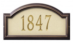 Whitehall Providence Artisan Stone Standard Address Plaque