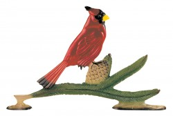 Whitehall Mailbox Sign Ornament - Cardinal