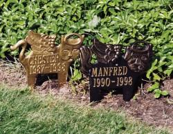 Whitehall Standard Pet Memorial Marker