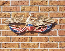 Whitehall 24 In. Patriotic Wall Eagle