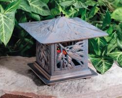 Whitehall Pinecone Tea Lantern