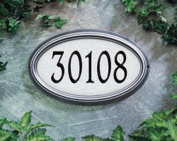 Whitehall Concord Artisan Stone Estate Address Plaque