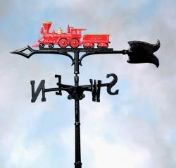 """Whitehall 30"""" Locomotive Color Weathervane"""
