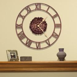 Whitehall Rosette Floating Ring Clock