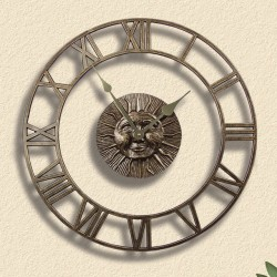 Whitehall Sunface Floating Ring Clock