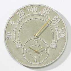 Whitehall Solstice Thermometer Clock