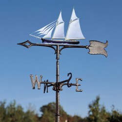 "Whitehall 30"" Schooner Color Weathervane"
