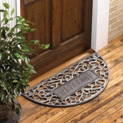 Whitehall Welcome Filigree Arch Mat