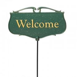 Whitehall ''Welcome'' Garden Poem Sign