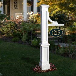 "24""W x 8""D x 56""H Woodhaven Sign Post"