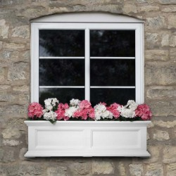 "36""W x 11""D x 10-4/5""H, Fairfield Window Planter"