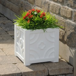 "16""W x 16""D x 16""H, Savannah Patio Planter"