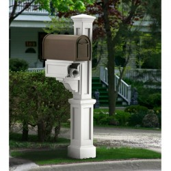 "8"" W x 56""H Rockport Single Mailbox Post"