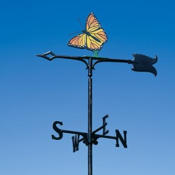 "Whitehall 30"" Monarch Color Weathervane"