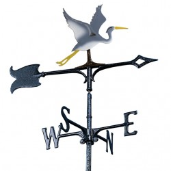 "Whitehall 30"" Blue Heron Color Weathervane"