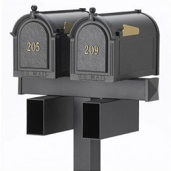 Whitehall Mailboxes with Dual Post