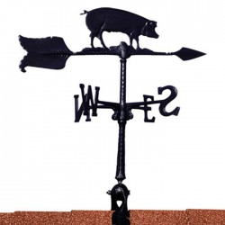 "Whitehall 24"" Hog Accent Weathervane"