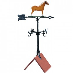 "Whitehall 30"" Draft Horse Color Weathervane"