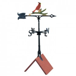 "Whitehall 30"" Cardinal Color Weathervane"