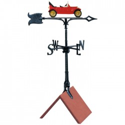 "Whitehall 30"" 1913 Chevy Color Weathervane"