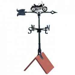 "Whitehall 30"" Motorcycle Color Weathervane"