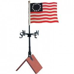 "Whitehall 30"" Liberty Flag Color Weathervane"