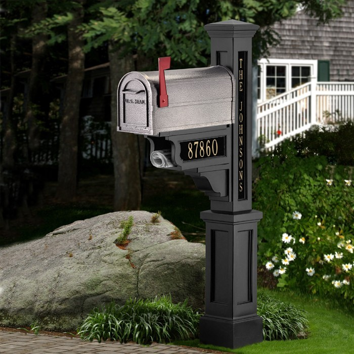 Mayne Dover Mailbox Post Package Personalized Plaques