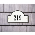 Whitehall Arch Marker Petite Address Plaque