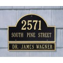 Whitehall Arch Marker Estate Wall Plaque Extension (plaque not included)