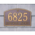 Whitehall Cape Charles Standard Address Plaque