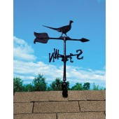 Whitehall Pheasant Weathervane - Shown in Black