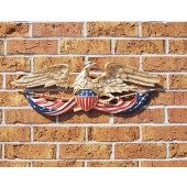 24 IN. Patriotic Wall Eagle - Color