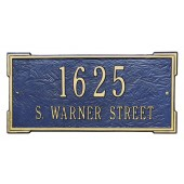 Whitehall Roanoke Estate Address Plaque